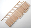 Dollhouse Miniature Fancy Stair Kit, Preassembled