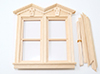 Dollhouse Miniature Fancy Victorian Nonworking Double Window