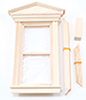Dollhouse Miniature Victorian Nonworking Single Window
