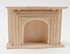 Dollhouse Miniature Standard Fireplace