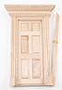 Dollhouse Miniature Yorktown 6-Panel Door