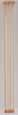 Dollhouse Miniature Rods: Natural Large 4/Pk