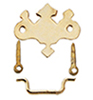 Dollhouse Miniature Chippendale Drawer Pulls, 6/Pk