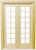 Dollhouse Miniature Classic French Door