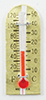 Dollhouse Miniature Thermometer