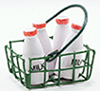IM65030 - MILK BOTTLES IN BASKET