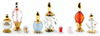 Dollhouse Miniature Perfume Bottles, 3Pk, Assorted