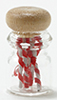 Dollhouse Miniature Candy Cane Jar
