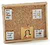 Dollhouse Miniature Memo Board