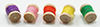 Dollhouse Miniature Spools Of Thread, 5Pc