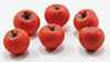 Dollhouse Miniature Tomatoes, 6Pc