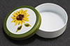 Round Tin, Sunflower Design