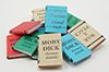Dollhouse Miniature Books/12, Large W/Printed Covers Title A
