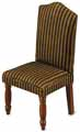 Dollhouse Miniature Upholstered Dining Chair