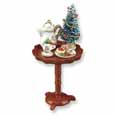 Dollhouse Miniature 'Cookies For Santa' Table Set