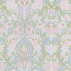 Dollhouse Miniature Wallpaper, Bonjour, Blue
