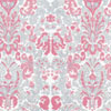 Dollhouse Miniature Wallpaper, Bonjour, Gray