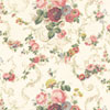Dollhouse Miniature Wallpaper, Roosevelt Rose, Pink