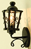Dollhouse Miniature Ornate Coach Lamp