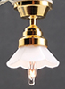 Dollhouse Miniature Ceiling Lamp 12 V