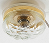 Dollhouse Miniature Clear Ceiling Light