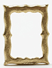 Dollhouse Miniature Small Standing Frame Gold