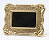 Dollhouse Miniature Large Rectangular Mirror
