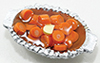 Dollhouse Miniature Carrots In Dish