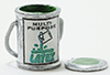 Dollhouse Miniature Paint Can, Open