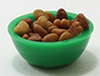 Dollhouse Miniature Bowl Of Nuts