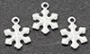 Dollhouse Miniature White Snowflakes 3 Pcs.