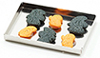 Dollhouse Miniature Halloween Cookies On Baking Sheet