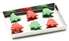 Dollhouse Miniature Christmas Cookies On Baking Sheet