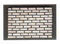 Dollhouse Miniature White Brick Corner, 125Pcs