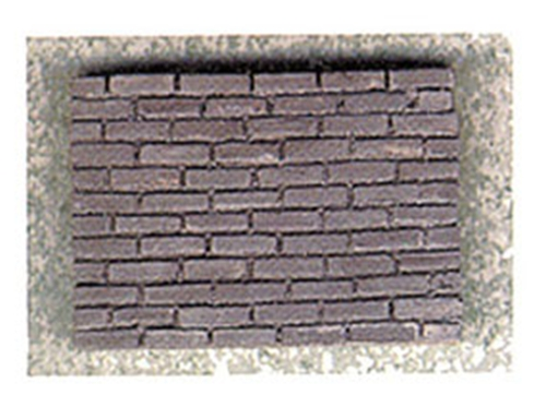 Dollhouse Miniature Charcoal Brick Corner, 125Pcs
