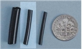 Dollhouse Miniature Black 3/32 Heat Shrink Tube,6Pk