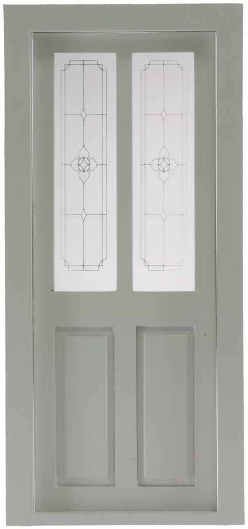 Dollhouse Transom Door White Cla76035 Just Miniature Scale