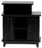 Dollhouse Miniature Bar Stand, Black