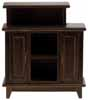 Dollhouse Miniature Bar Stand, Walnut