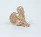 Dollhouse Miniature Sitting Cupid-Gold