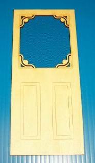 Dollhouse Victorian Screen Door Lt060 Just Miniature Scale
