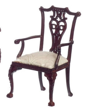 Dollhouse  Francesco Armchair, Mahogany