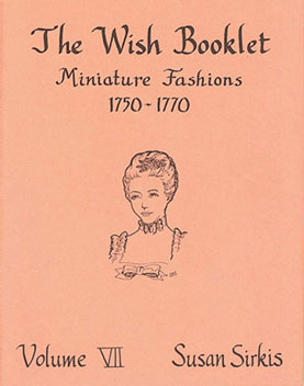 Dollhouse Miniature Wish Booklet #7 Miniature Fashions