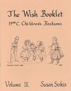 Dollhouse Miniature Wish Booklet #9 19Th Century Children's