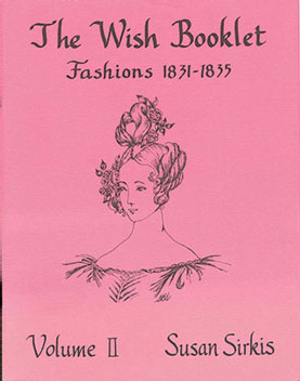 Dollhouse Miniature Wish Booklet #2 Fashions 1831-1835