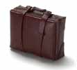Dollhouse Miniature Medium Luggage