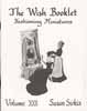 Dollhouse Miniature Wish Booklet #22 Fashioning Miniatures
