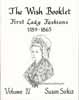 Dollhouse Miniature Wish Booklet #4 First Lady Fashions 1789