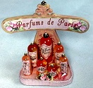 Dollhouse Miniature Perfume Set by Loretta Kasza