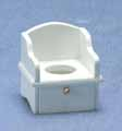 Potty Chair, White